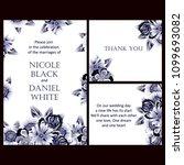 vintage delicate invitation... | Shutterstock .eps vector #1099693082