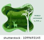 eco friendly save the... | Shutterstock .eps vector #1099693145