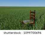 mahogany chair with a golden...   Shutterstock . vector #1099700696