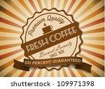 vector grunge retro vintage... | Shutterstock .eps vector #109971398