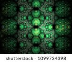 abstract green background... | Shutterstock . vector #1099734398