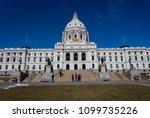 capitol building in st'paul... | Shutterstock . vector #1099735226