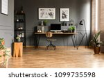 real photo of spacious start up ...   Shutterstock . vector #1099735598