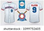 baseball jersey  sport uniform  ... | Shutterstock .eps vector #1099752605