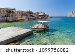 gerolimenas coastal village in... | Shutterstock . vector #1099756082