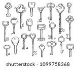 hand drawn set of different... | Shutterstock .eps vector #1099758368
