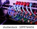 information technology computer ... | Shutterstock . vector #1099764656