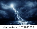 Lightning Storm Over Black Sea...
