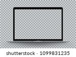 computer notebook mockup and... | Shutterstock .eps vector #1099831235