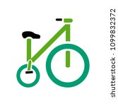 vector bicycle illustration  ... | Shutterstock .eps vector #1099832372
