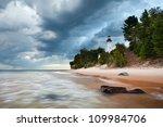 Au Sable Lighthouse. Image Of...