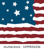 independence day of usa vector...   Shutterstock .eps vector #1099856336