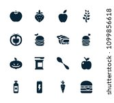 nutrition icon. collection of... | Shutterstock .eps vector #1099856618