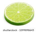 slice of lime citrus fruit...   Shutterstock . vector #1099898645