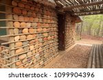 houses with stone walls  ... | Shutterstock . vector #1099904396