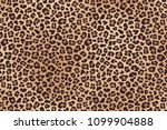 leopard spotted fur texture.... | Shutterstock .eps vector #1099904888