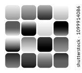 mobile app icon templates set....