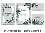 vector illustration invitation... | Shutterstock .eps vector #1099930955