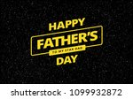 happy father's day card vector... | Shutterstock .eps vector #1099932872