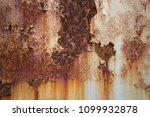 rust on steel metal  old... | Shutterstock . vector #1099932878