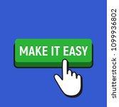 hand mouse cursor clicks the... | Shutterstock .eps vector #1099936802