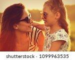 happy fashion kid girl...   Shutterstock . vector #1099963535