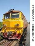 Old Train On Death Railway...