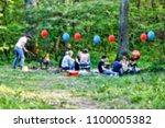 blur. background image.... | Shutterstock . vector #1100005382