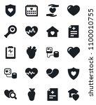 set of vector isolated black... | Shutterstock .eps vector #1100010755