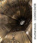 close up vintage speaker pattern | Shutterstock . vector #1100023658