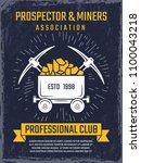 poster design template of... | Shutterstock .eps vector #1100043218