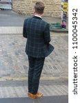 edinburgh  uk   circa august... | Shutterstock . vector #1100045342