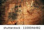 a stunning 3d rendering of code ... | Shutterstock . vector #1100046482