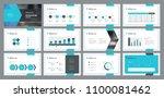 business presentation template...   Shutterstock .eps vector #1100081462