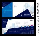 brochure template design.... | Shutterstock .eps vector #1100082836