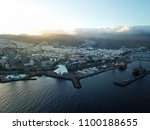 aerial view of the city of... | Shutterstock . vector #1100188655