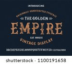 original handmade alphabet.... | Shutterstock .eps vector #1100191658