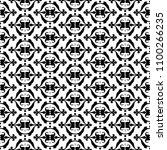 geometric pattern seamless | Shutterstock . vector #1100266235