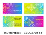 bright colorful horizontal...   Shutterstock .eps vector #1100270555