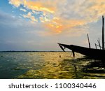 Small photo of Sunset at chilika lake can't be anymore beautiful.