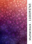dark pink  red vertical layout... | Shutterstock . vector #1100393765