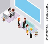 people cloud computing storage | Shutterstock .eps vector #1100398352