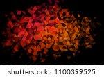 dark pink  yellow vector... | Shutterstock .eps vector #1100399525