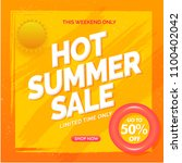 hot summer sale flyer  poster...