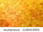 light orange vector triangle... | Shutterstock .eps vector #1100415092