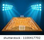 an illustration of hardwood... | Shutterstock .eps vector #1100417702
