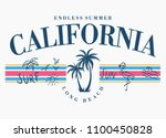 california vector illustration  ... | Shutterstock .eps vector #1100450828