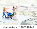 window shopping   ecommerce and ... | Shutterstock . vector #1100510465