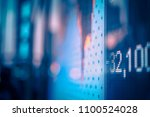 stock market data   Shutterstock . vector #1100524028