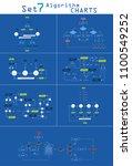 business data visualization.... | Shutterstock .eps vector #1100549252